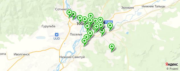 тюнинги-магазины на карте Улан-Удэ