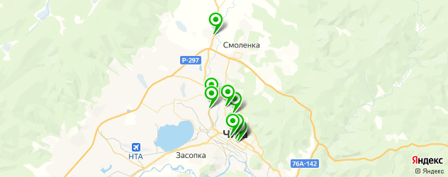 вегетарианские кафе на карте Читы