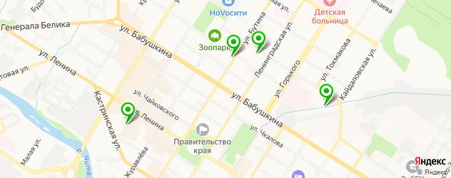 салоны бровей на карте Читы