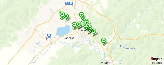 детские клубы на карте Читы