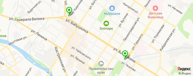 картинные галереи на карте Читы