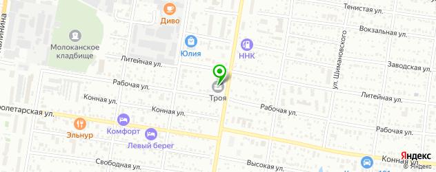Осетинские пироги с доставкой на карте Благовещенска