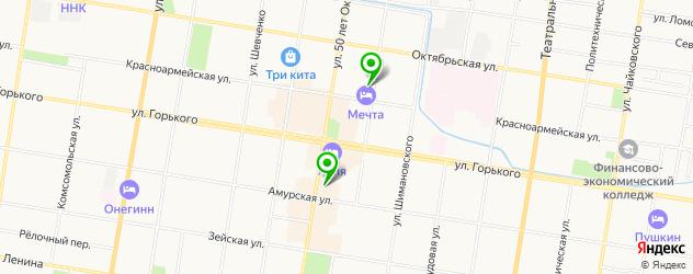 центры эстетической медицины на карте Благовещенска