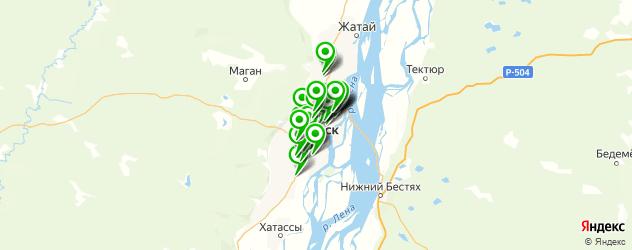 тюнинги ателье на карте Якутска