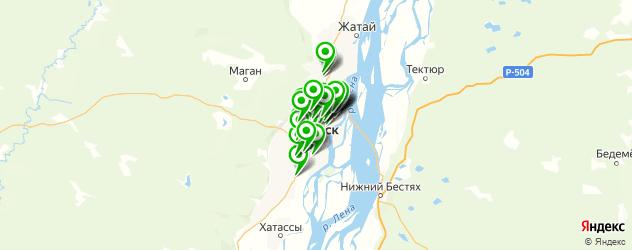 тюнинги-магазины на карте Якутска