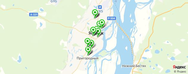 автосалоны на карте Якутска