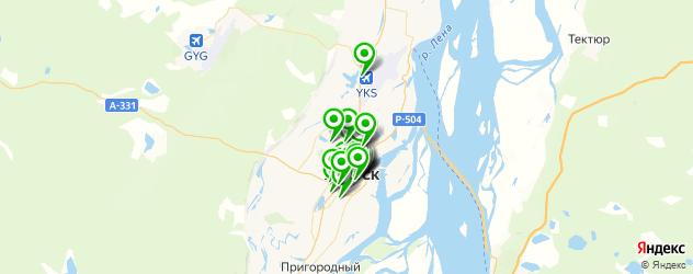 банкоматы с функцией приема наличных на карте Якутска