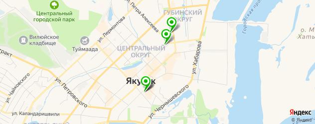 художественные школы на карте Якутска