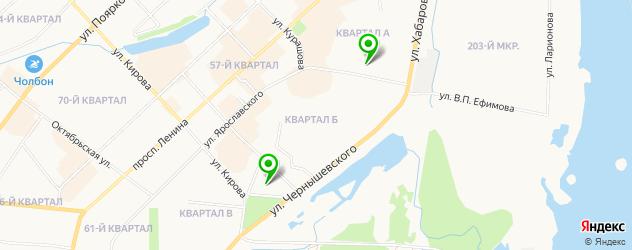 свадебные агентства на карте Якутска