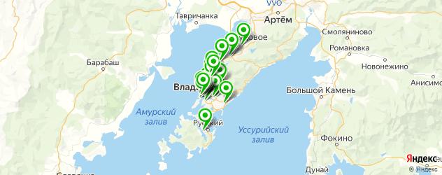 Развлечения на карте Владивостока
