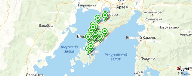 отделения Почты России на карте Владивостока