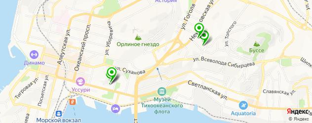 поликлиники на карте улицы Суханова
