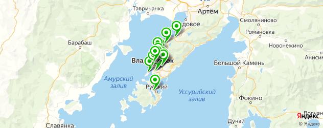 диагностические центры на карте Владивостока