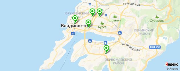 модельные агентства на карте Владивостока