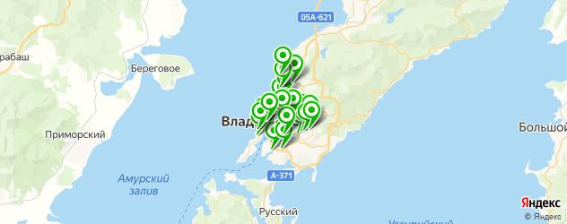 женские фитнес-клубы на карте Владивостока