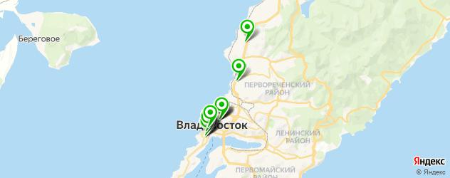 картинные галереи на карте Владивостока
