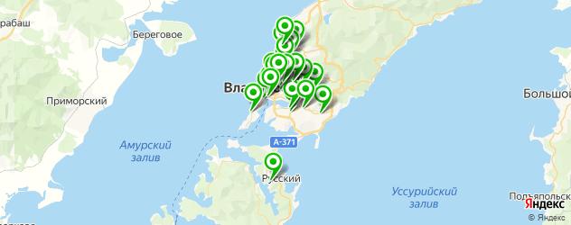 аптеки на карте Владивостока