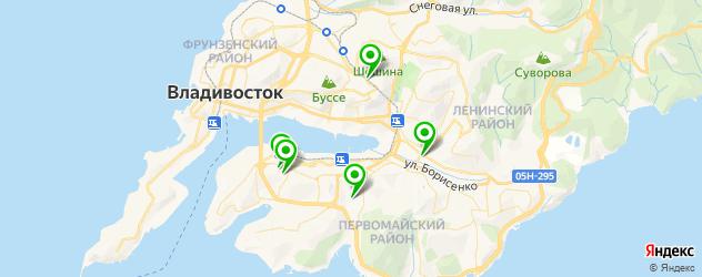 центры вакцинации на карте Владивостока