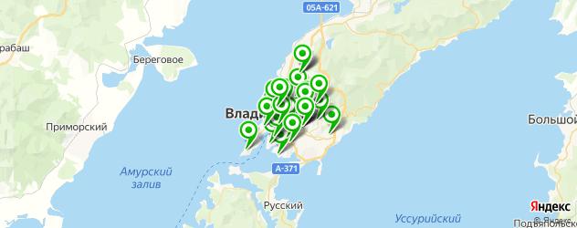 мастерские на карте Владивостока