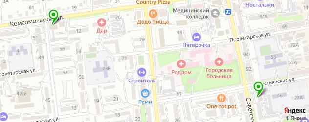 Доставка шашлыка на карте Уссурийска
