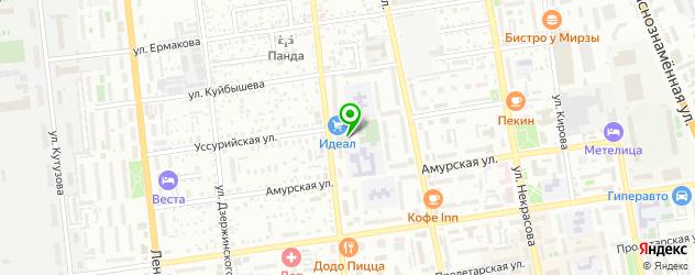 грузинские рестораны на карте Уссурийска