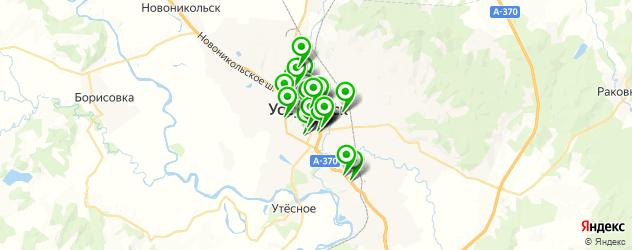 Здоровье на карте Уссурийска