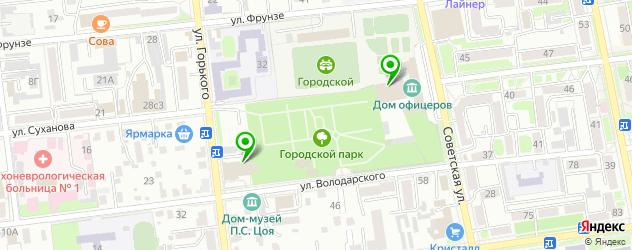 театры на карте Уссурийска