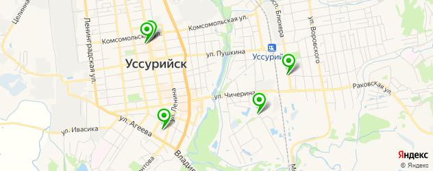 диагностические центры на карте Уссурийска