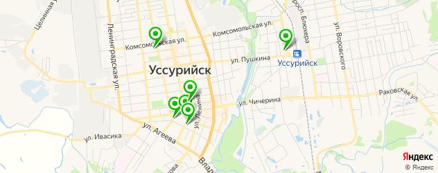 ВУЗы на карте Уссурийска