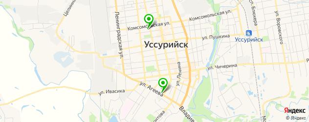 тату салон на карте Уссурийска