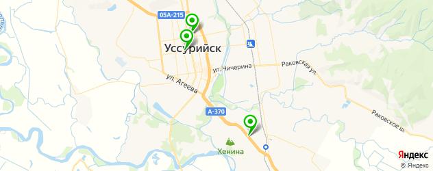 художественные школы на карте Уссурийска