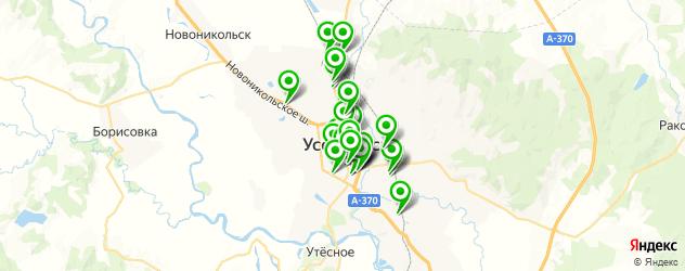 кафе для свадьбы на карте Уссурийска
