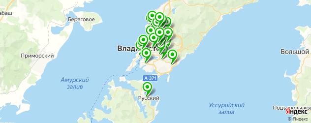 изготовления ключей на карте Владивостока
