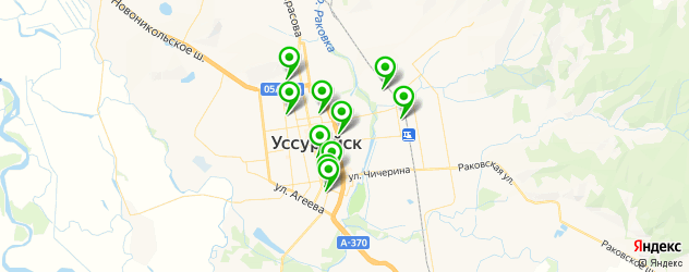 рестораны для свадьбы на карте Уссурийска
