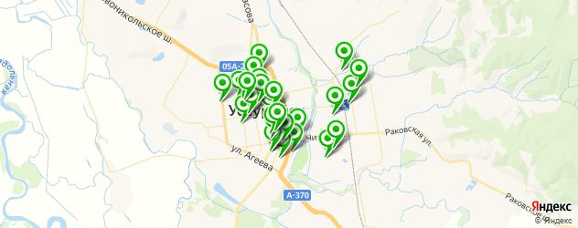 швейные мастерские на карте Уссурийска