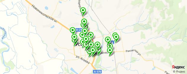 стоматологические клиники на карте Уссурийска