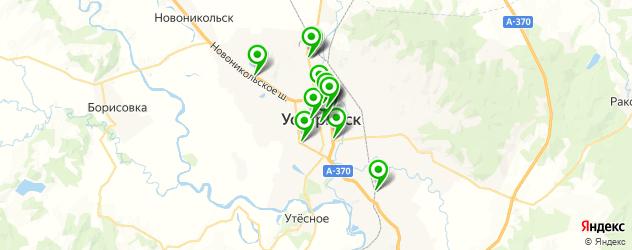мотосалоны на карте Уссурийска