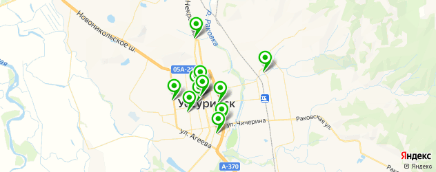 агентства праздников на карте Уссурийска