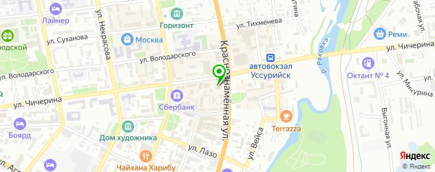 кадровые агентства на карте Уссурийска