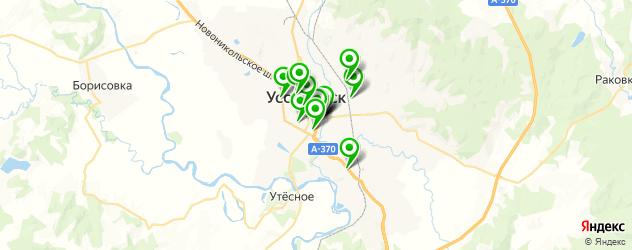 фотостудии на карте Уссурийска