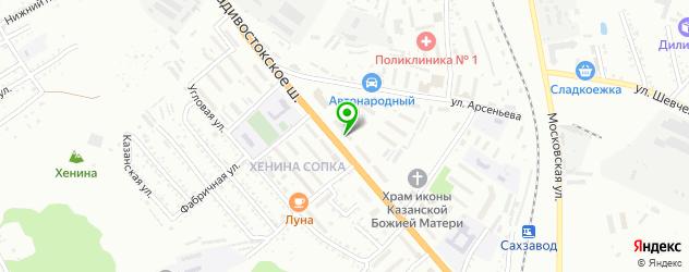 салоны оптики с проверкой зрения на карте Владивостокского шоссе