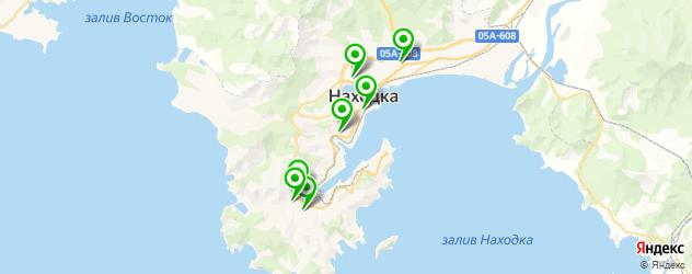 ВУЗы на карте Находки