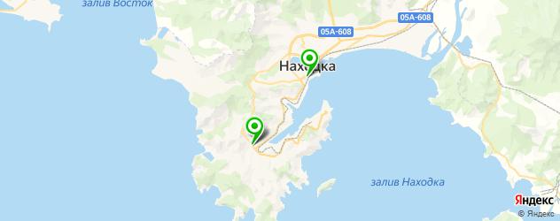 институты на карте Находки