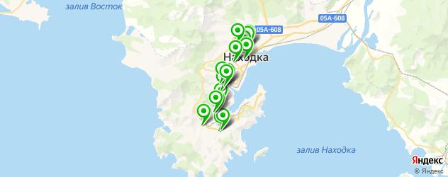 студии загара на карте Находки