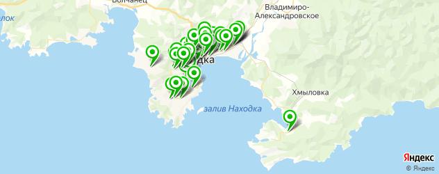 АЗСЫ на карте Находки