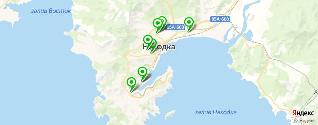 бары с танцполом на карте Находки