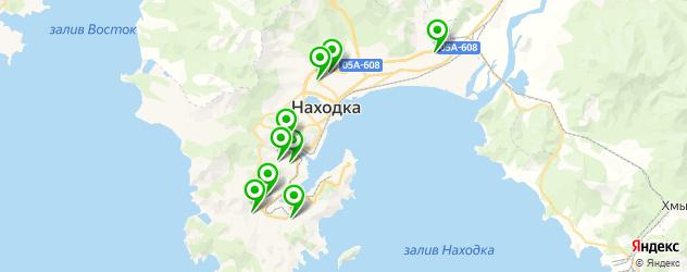 библиотеки на карте Находки