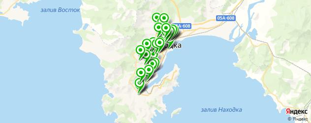 сервисные центры на карте Находки