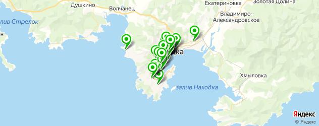 Развлечения на карте Находки