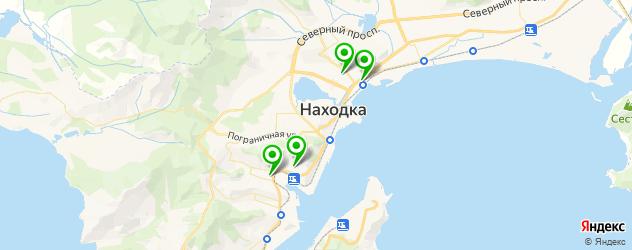 вегетарианские кафе на карте Находки